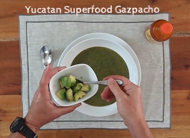 Yukatan Superfood Gazpacho Blog Photo